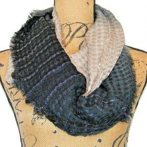 INC International Concepts Ombre Waffle Loop Scarf